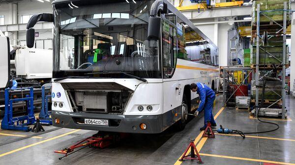 Техническое обслуживание автобусов Мострансавто