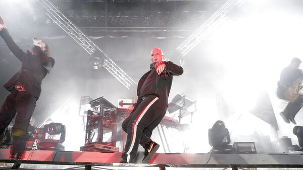 Выступление британской группы The Prodigy