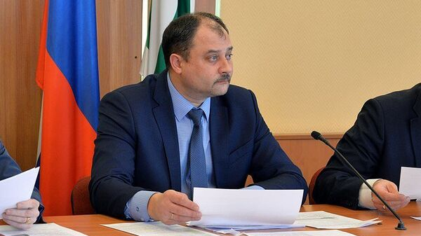 Глава города Курган Сергей Руденко