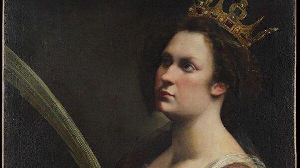 Портрет святой Екатерины кисти Артемизии Джентилески