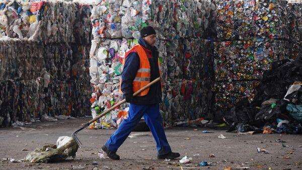 Завод по переработке отходов в Подмосковье