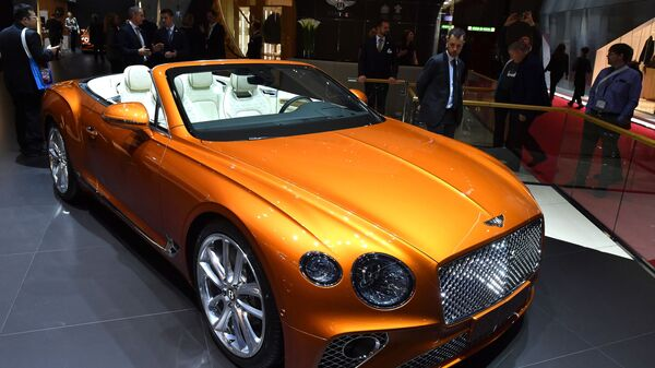 Автомобиль Bentley Continental GT Convertible