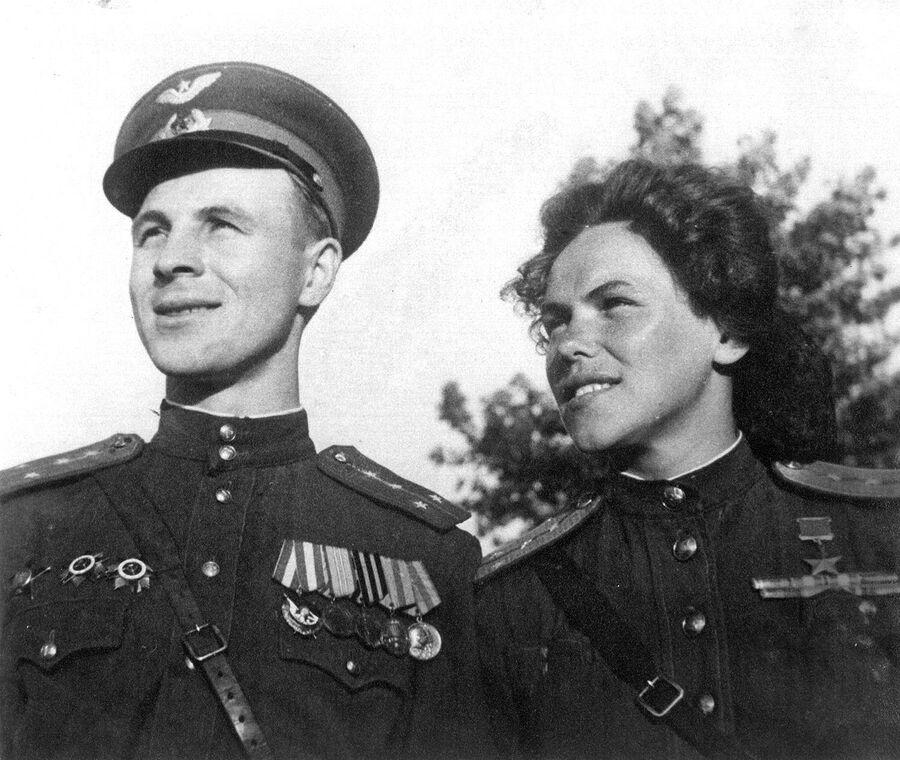 Руфина Гашева с мужем