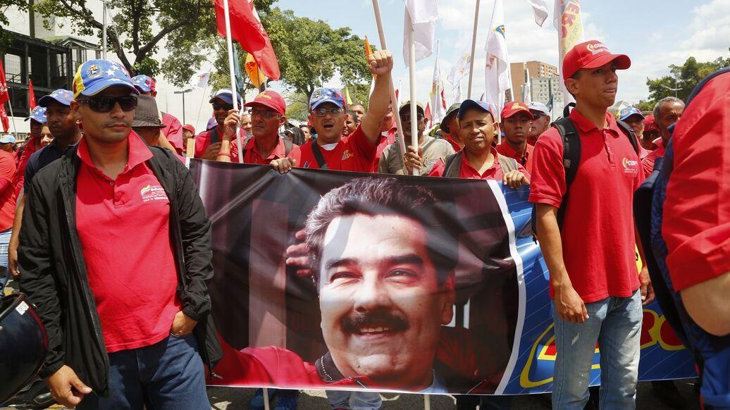 В американский Конгресс внесли проект о санкциях за поддержку Мадуро