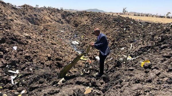 На борту упавшего в Эфиопии самолета были трое россиян