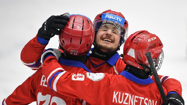 Игроки команды России