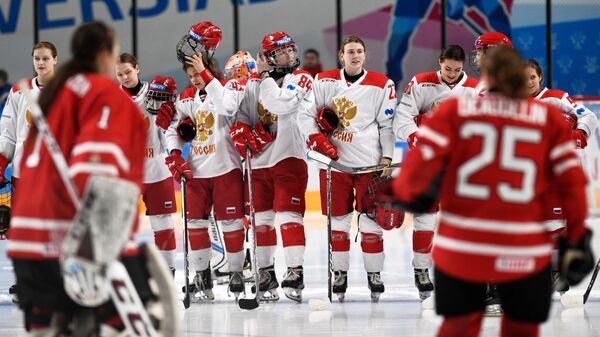 """Как падали """"кленовые листья"""": российские хоккеистки победили на Универсиаде"""