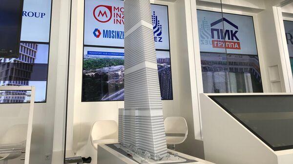 Проект башни Мосинжпроекта в Москве-Сити