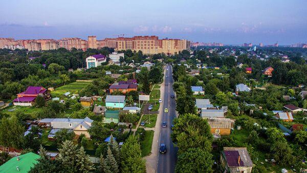 Многоквартирные дома и садовые участки в городе Щелково Московской области