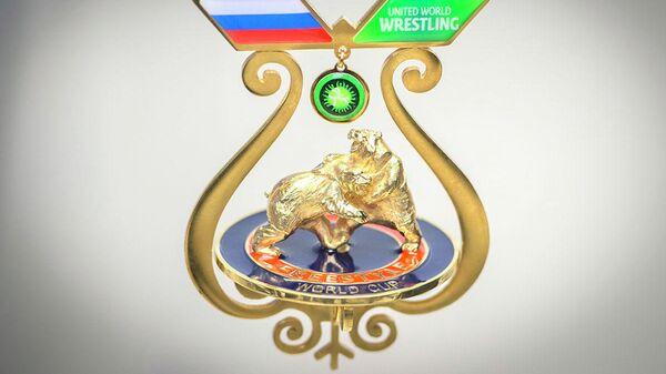 Медали Кубка мира-2019 по вольной борьбе в Якутске