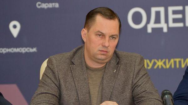 Глава Одесской полиции Дмитрий Головин