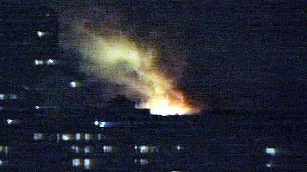Белград во время бомбардировки