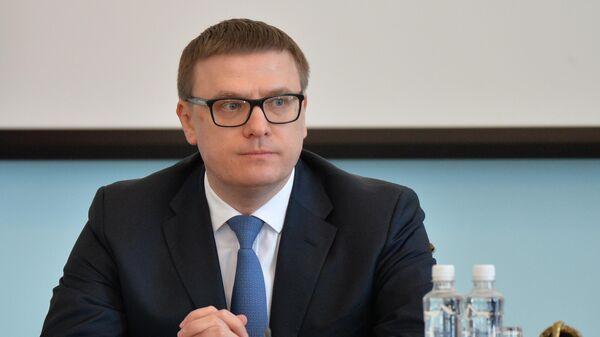 Временно исполняющий обязанности губернатора Челябинской области Алексей Текслер на церемонии представления правительству области. 20 марта 2019