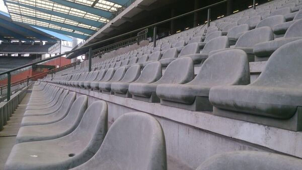 Трибуны стадиона в Брюсселе