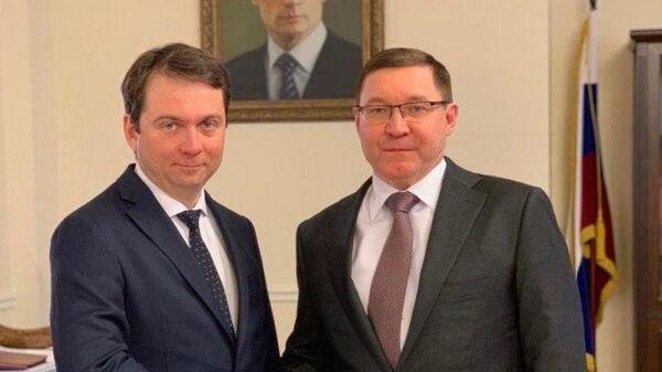 Андрей Чибис и Владимир Якушев
