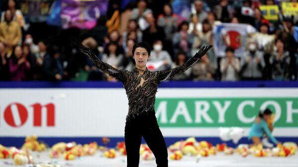 Ханю обновил два мировых рекорда на чемпионате мира в Сайтаме