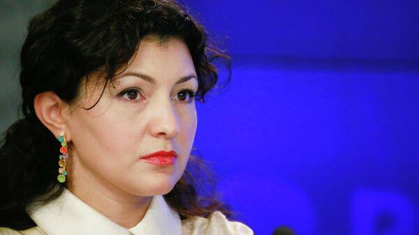 Министр культуры Московской области Нармин Ширалиева