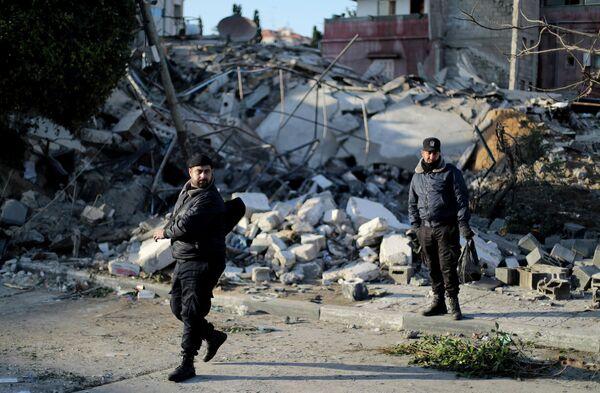 Последствия ударов Израиля по сектору Газа. 26 марта 2019