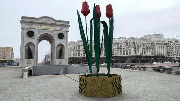 Триумфальная арка в Нур-Султане