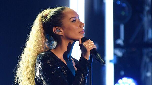 Певица Леона Льюис во время церемонии вручения музыкальной премии BraVo в Москве