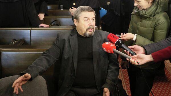 Геннадий Иванов во время судебного заседания в Вильнюсе