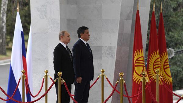 Путин и Жээнбеков проводят встречу в узком составе