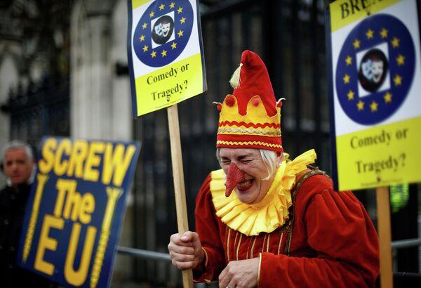 Противник Brexit в Лондоне