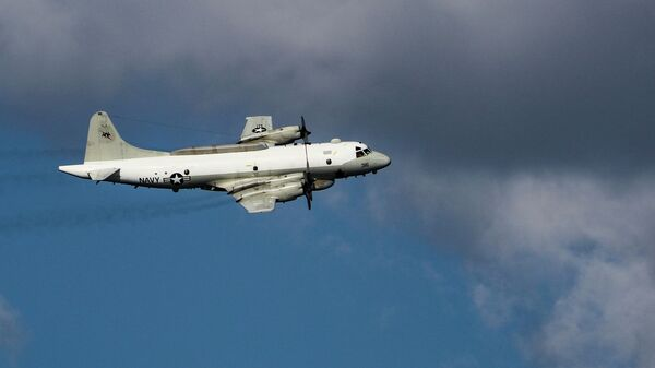 Американский самолет EP-3E Aries II