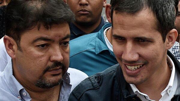 Роберто Марреро и Хуан Гуаидо