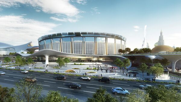 Проект реконструкции спорткомплекса Олимпийский