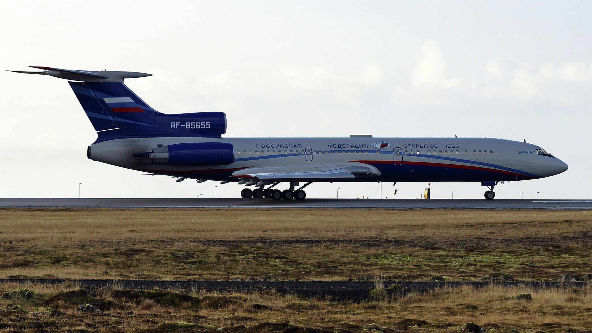 Самолет Ту-154М Open Skies - РИА Новости, 1920, 15.01.2021