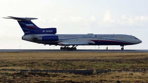 Самолет Ту-154М. Архивное фото