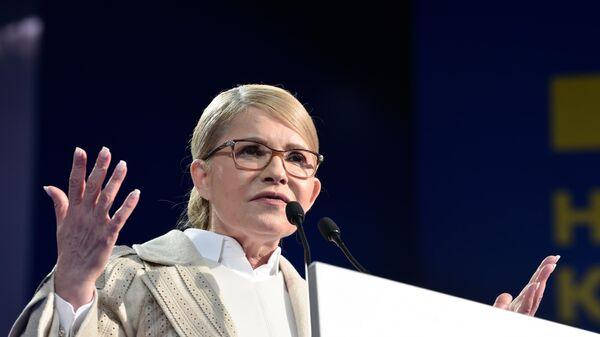 Кандидат в президенты Украины Юлия Тимошенко. Архивное фото
