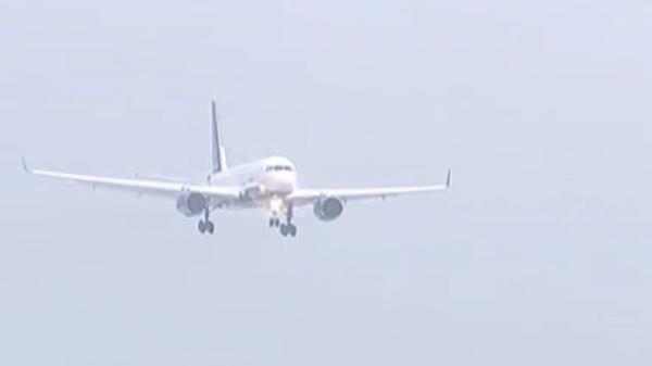Опубликованы кадры полета самолета для космонавтов Ту-204