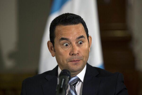 Избранный президент Гватемалы Джимми Моралес
