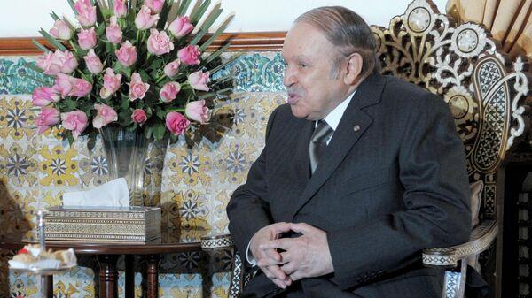 Президент Алжира Абдельазиз Бутефлика