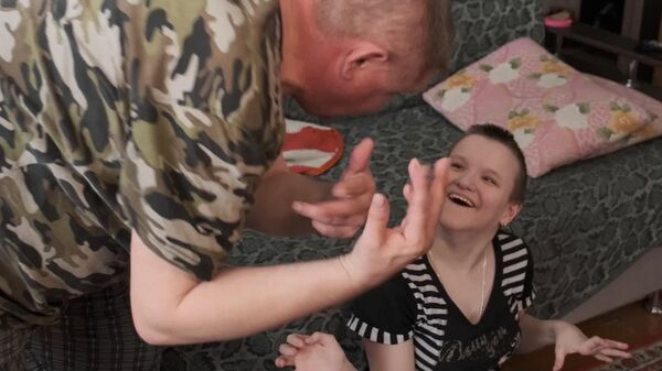 Ветеран чеченской войны живет с дочерью-инвалидом на 200 рублей в день