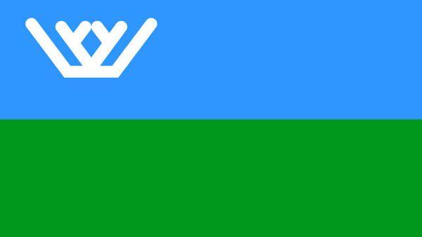 Ханты-Мансийский Автономный Округ - флаг