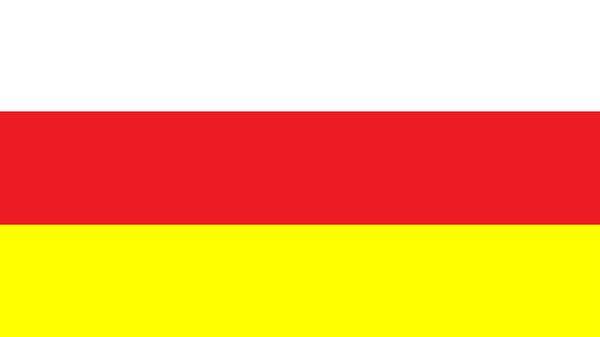 Республика Северная Осетия - Алания - флаг
