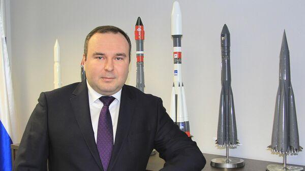 Генеральный директор компании Главкосмос Дмитрий Лоскутов