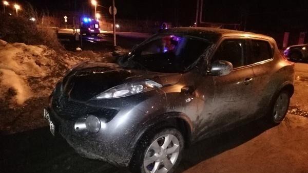 Автомобиль виновницы ДТП в поселке Белоярский, Свердловской области