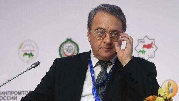 Заместитель министра иностранных дел РФ Михаил Богданов на Российско-арабском деловом совете