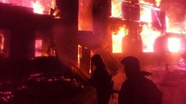 Пожар в жилом доме во Владимирской области