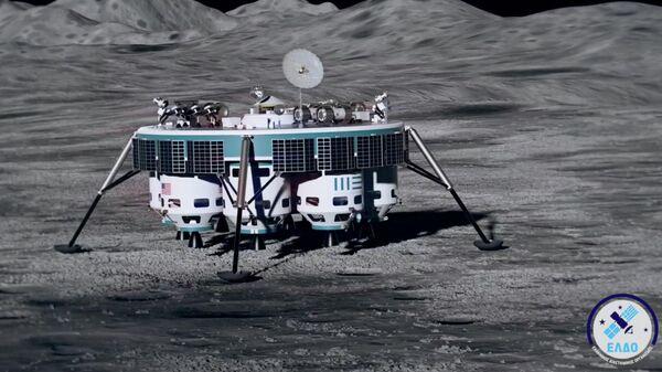 Снимок экрана демонстрационного ролика греческого проекта Hellas to the Moon