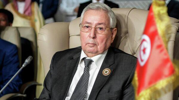 Председатель Совета нации Алжира Абделькадер Бенсалех