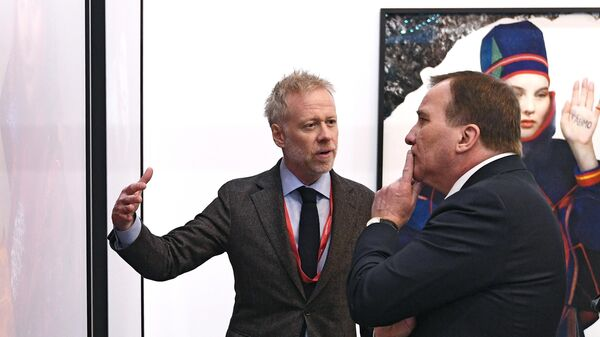 Премьер-министр Швеции Стефан Левен на международном арктическом форуме Арктика – территория диалога
