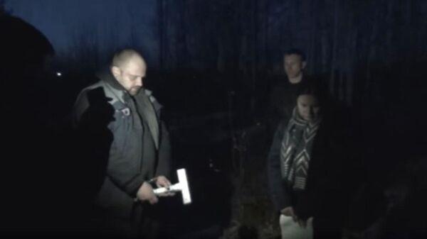 Житель Братска, подозреваемый в совершении убийства своей супруги, во время следственного эксперимента