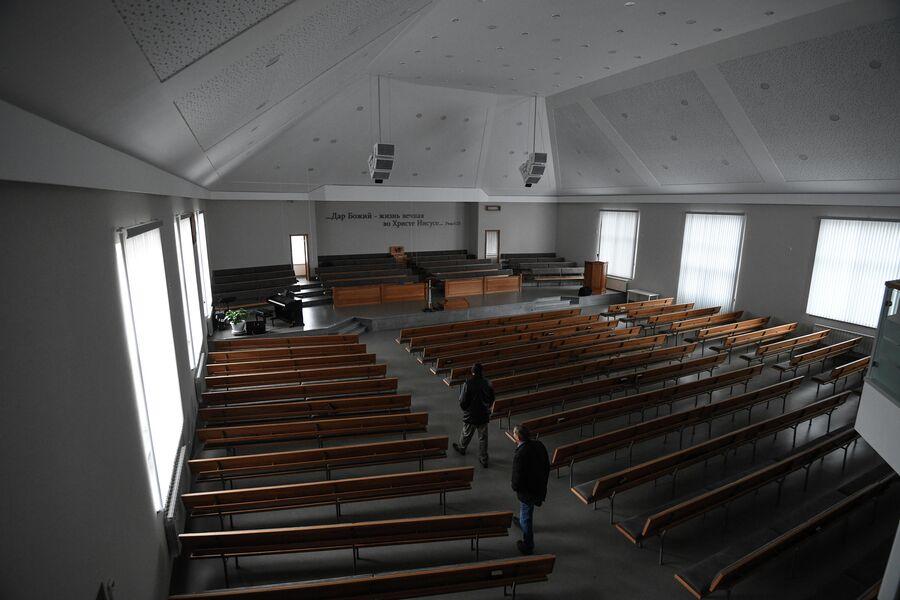 Дом молитвы в деревне Аполлоновка