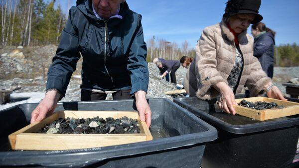 Изумрудно-бериллиевое месторождение Мариинский прииск в Свердловской области