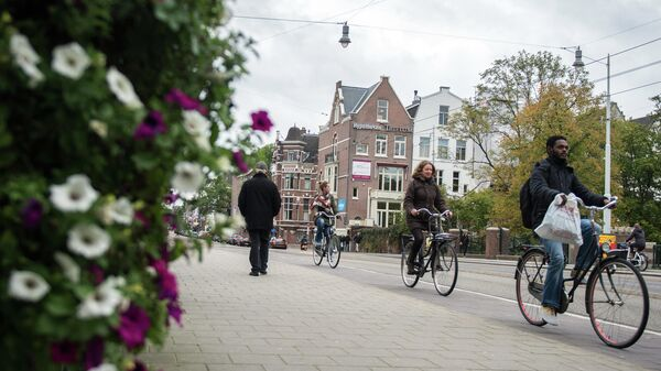 В Амстердаме разработали карту, показывающую места скопления людей